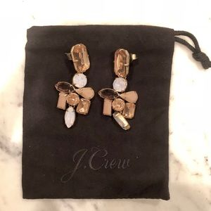 J. Crew Blush Stone Earrings